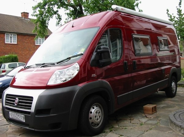 Deep Red A Self Build Motorhome Accessories