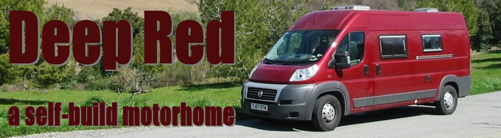 Deep Red - a Self-build motorhome