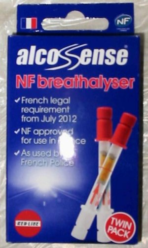 French Breathalyser pack