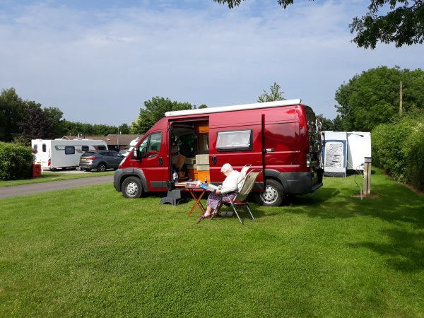 Ashridge Caravan Club site.