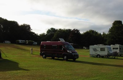 Camping & Caravanning Club site, near Ashford
