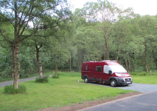 Caravan and Camping Club site, Haltwhistle