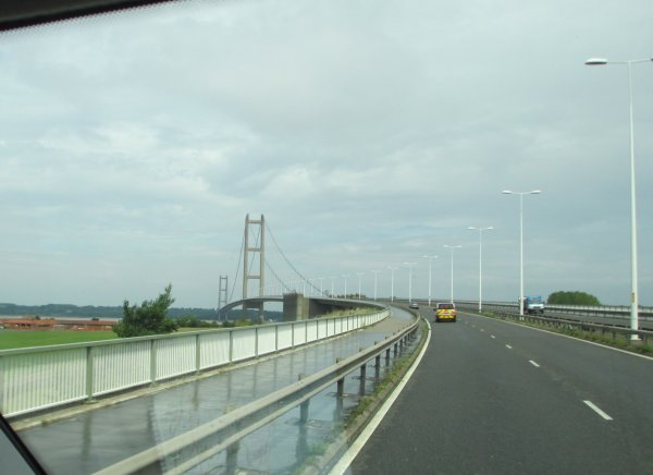 Humber suspension bridge