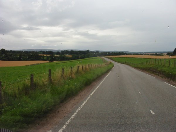 traffic free minor road near Nairn