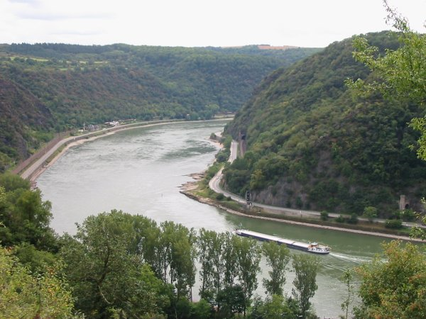 Rhine at Loreley
