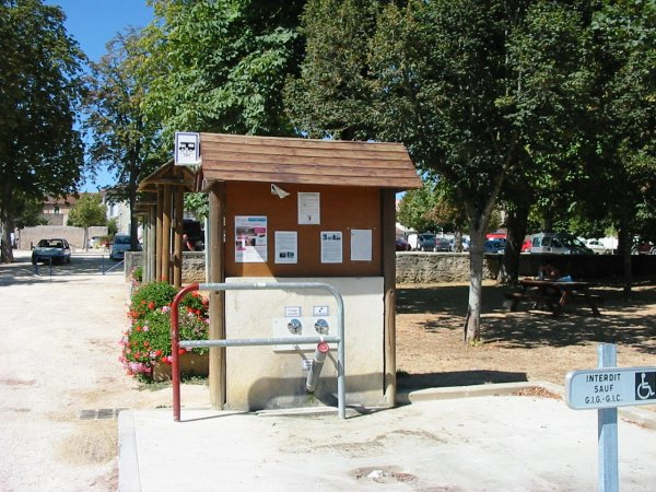 Lussac Motorhome Service point