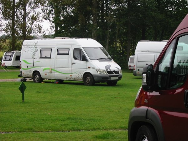 Perth Caravan and Camping Club site