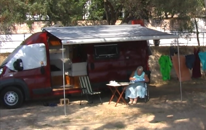 Video of campsite at Plataria, Greece