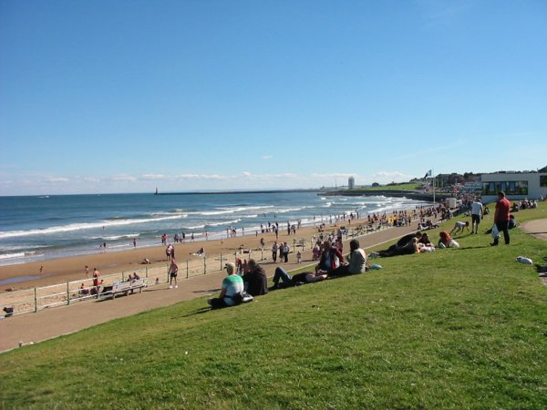 View of the beach at Seaburn, Sunderland