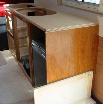 Motorhome Kitchen Worktops