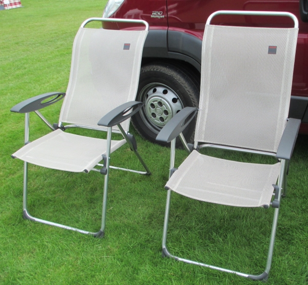 Lafuma garden chairs