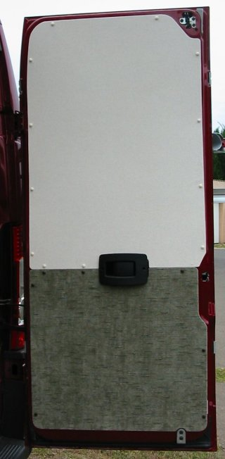 rear doors insulation