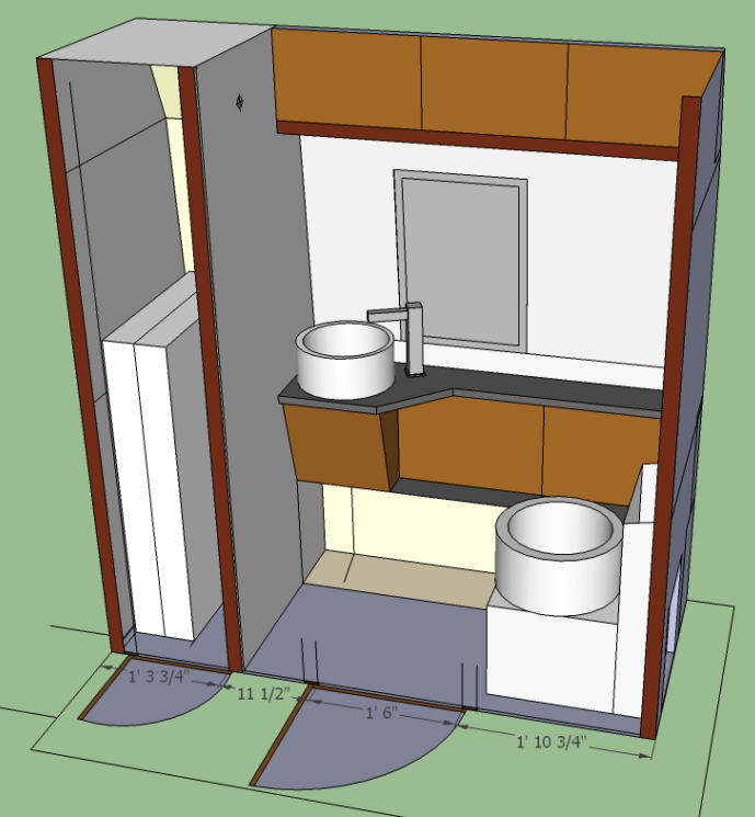 sketch of 2014 version of washroom